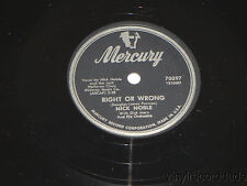 NICK NOBLE Right Or Wrong/ Maybe Tomorrow 78 Mercury 70397 VG+