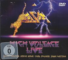 ASIA - High Voltage Live//AOR - CD+DVD-Digipak-Issue/SEALED