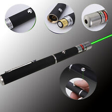 Hot 5mW 532nm Mid-open Green Laser Pointer Pen Powerful Strong Beam Light Black