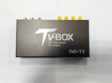 Car DVB-T2 Antenna TV Box 4 Tuner Receiver HDMI HD 1080P H264 High Speed 140Km/h
