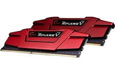 8GB G.Skill DDR4 PC4-19200 2400MHz Ripjaws V CL15 Dual Channel kit 2x4GB 1.20V