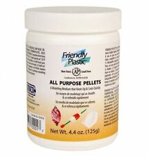 Amaco Friendly Plastic Modelling pellets, 4oz jar, jewellery making, crafts