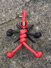 Deadpool Marvel Comics custom Paracord Buddy keyring zipper puller lanyard 04