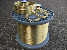 BRASS CRAFT WIRE 3 COIL PACK 0.4mm 26 GAUGE 3 X 20mts NICKEL FREE