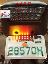 Buell Motorcycle 12V Tail Brake Stop & Indicators Integrated LED Light Strip !