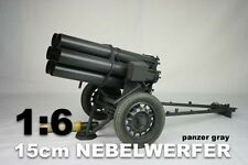 "DID 1/6 Scale WWII German 15cm Nebelwerfer Panzar Gray for 12""  Action Figures"