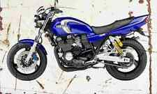 Yamaha XJR400R 2005 Aged Vintage SIGN A4 Retro