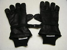 Men and Women Intermediate Cold/Wet Leather Lined Hawkeye Gloves Military Issue