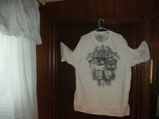 Timberland t-shirt short sleeve color white with gray CITY SCENE siz XXL/TTG NWT