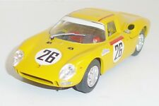 Model BOX  Ferrari 250 LM Racing #26 gelb 1:43