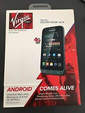 New Samsung Galaxy Victory SPH-L300 - 4GB - Silver (Virgin Mobile) Smartphone