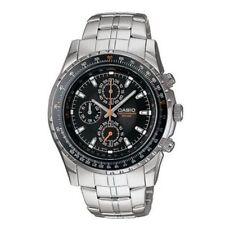 NEW Casio Men's MTP4500D-1AV  Analog Chronograph Aviator Watch