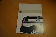 CATALOGUE Volvo XC70 de 2002 Angleterre