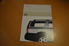 CATALOGUE Volvo XC70 de 2002 Angleterre