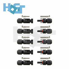 New MC4 Solar Panel Wire Connectors Male Female Waterproof IP67 30A Rated 5 Sets