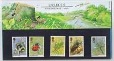 GB Presentation Pack No. 160 Insects 1985  10% OFF FOR ANY 5+