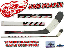 KRIS DRAPER Game Used Stick 2011 Season DETROIT RED WINGS - WARRIOR WIDOW