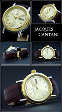 Automatik originale-Jacques Cantani OROLOGIO SERIE Odissea BI-COLOR incredibile & elegant