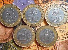 PORTUGAL - 200 Escudos 1991-2001 Bi-metallic Bimetal Bi-metal - 1 COIN
