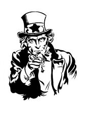 high detail airbrush stencil uncle sam FREE UK  POSTAGE