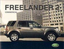 Land Rover Freelander 2 Commercial 2008-09 UK Market Sales Brochure S XS