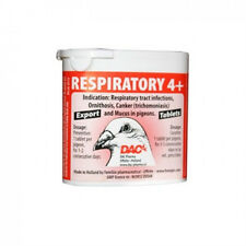 Pigeon Product - Respiratory 4+ Tablets by DAC  - for Racing Pigeons