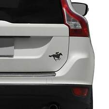 Course de chevaux jockey autocollant vinyle pour véhicules/voiture décalque/autocollant vinyle/transf...