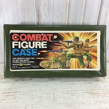 Combat Figure Case for GI Joe and Other Action Figures 2 Trays Vintage