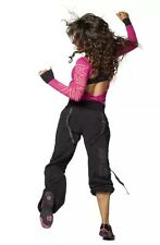 Zumba Feeling It Cargo Pant Black Size M NWT