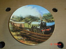 Royal Doulton Franklin Mint Collectors Plate FLYING SCOTSMAN