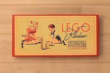 LEGO DENMARK VINTAGE 1940'S WOOD BLOCKS KLODSER
