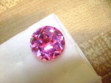 Lab Grown Pink Sapphire Round 8mm Lot of 5 Stones Ebays Best Deal