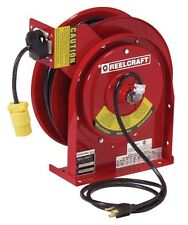 REELCRAFT L 4545 123 3 - 12 AWG / 3 Cond x 45ft. 15 AMP Single Outlet, With Cord