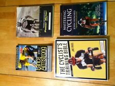 CYCLIST TRAINING BIBLE AND OTHER CYCLING TRAINING BOOKS BUNDLE