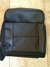 04-06 Ford F-150 Factory Original REAR UPPER Seat Cover (Black Leather)