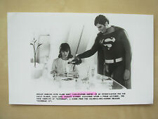 1980 FILM STILL PRESS PHOTO - SUPERMAN 11 - CHRISTOPHER REEVE & MARGOT KIDDER  2