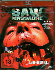 SAW MASSACRE - Blu Ray Disc -