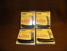 """Lot 4 Lansky Knives Utility Electrician's Knife New 4 5/8"""" Pocket Knife LKN035"""
