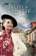 La Lista de Lisette by Susan Vreeland (2015, Paperback)