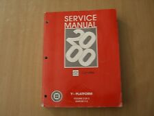 Chevrolet Corvette Modelljahr 2000 Workshop shop service manual Band 2