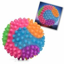 Flashing Bobble Spikey Ball Sensory Stress Toy Party
