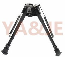"9''-13"" Tactical Super Duty Swivel Bipod Adjustable Airgun Rifle Gun Hunting"