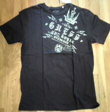 NWT GUESS Black w/Gold Crown Graphic T-Shirt, Super Soft,  XL MSRP: $32 (S-T-82)