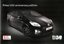 Toyota Prius 10th Anniversary Limited Edition 2010-11 UK Market Sales Brochure