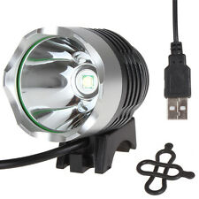 3-Mode USB-powerd 500LM LED LB-XL T6 LED Bike Bicycle Light Headlamp for Outdoor