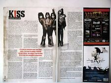 COUPURE DE PRESSE-CLIPPING :  KISS [2pages] 06-07/2008 Eric Singer,Interview