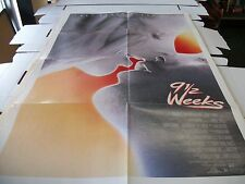 9 1/2 WEEKS -  POSTER ONE SHEET - 27 X 41 - 1986