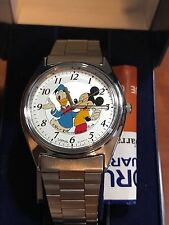 Vintage Mickey Mouse AND Donald Duck Scarce Low Production New Old Stock in box