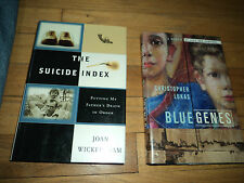 2 Biographies Dealing With Suicide Blue Genes Lukas The Suicide Index Wickersham