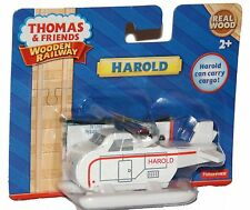 HAROLD HELICOPTER with MAGNET Thomas Wooden Railway NEW IN BOX
